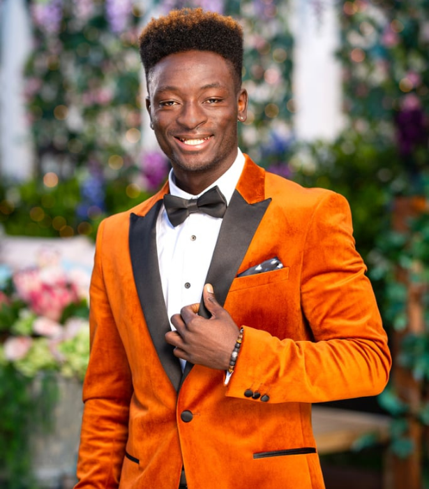 **Ab Sow**  <br><br>  One of our favourite moments from The Bachelorette teaser came from Ab Sow as he tried to comprehend what having two Bachelorettes meant.  <br><br>  Listing his Instagram bio as a model, filmmaker and TV star, fans may recognise him from Australia's Got Talent 2016 dance troupe act, EQUALS.