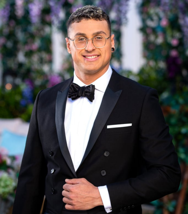 """**Samuel, 27, NSW**<br><br> An old soul with a """"massive heart"""" and slight psychic abilities, Sam has a lot of love to give.<br><br> When not working as a musculoskeletal therapist, he revels in life's simple joys and wants nothing more than a partner to shower with affection and smother with kisses."""