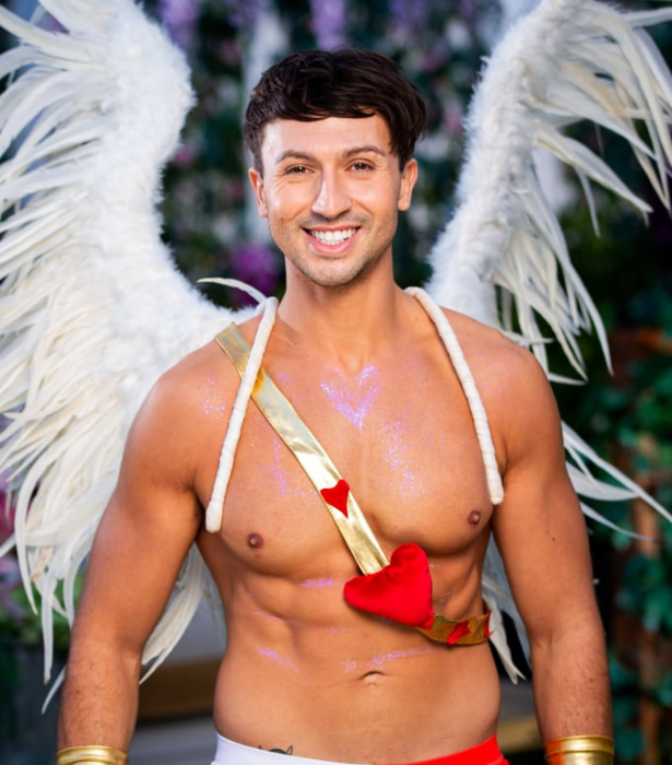 """**Jake, 26, WA** <br><br> It wouldn't be The Bachelorette without a man in costume, and this one definitely has abs worthy of flaunting. <br><br> An explosives handler in the mines by day, Jake hopes to add some spice to our Bachelorettes' lives, using his cheeky humour to keep them laughing till the very end. <br><br> """"When I have the chance to get romantic, I embrace it! I am a very creative person, so my ideas are pretty wild,"""" he says."""