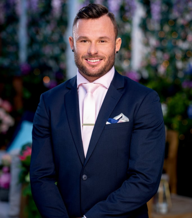 """**James, 28, QLD** <br><br> He might be a dare-devil in the sporting arena, but pro-wakeboarder James is more reserved when it comes to matters of the heart - especially since his most recent break-up. <br><br> Driven, competitive and caring, his hobbies include surfing, fitness, music and """"anything with a thrill."""""""