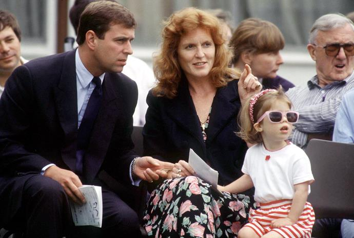 Eugenie was a style maven from day one, might we add.