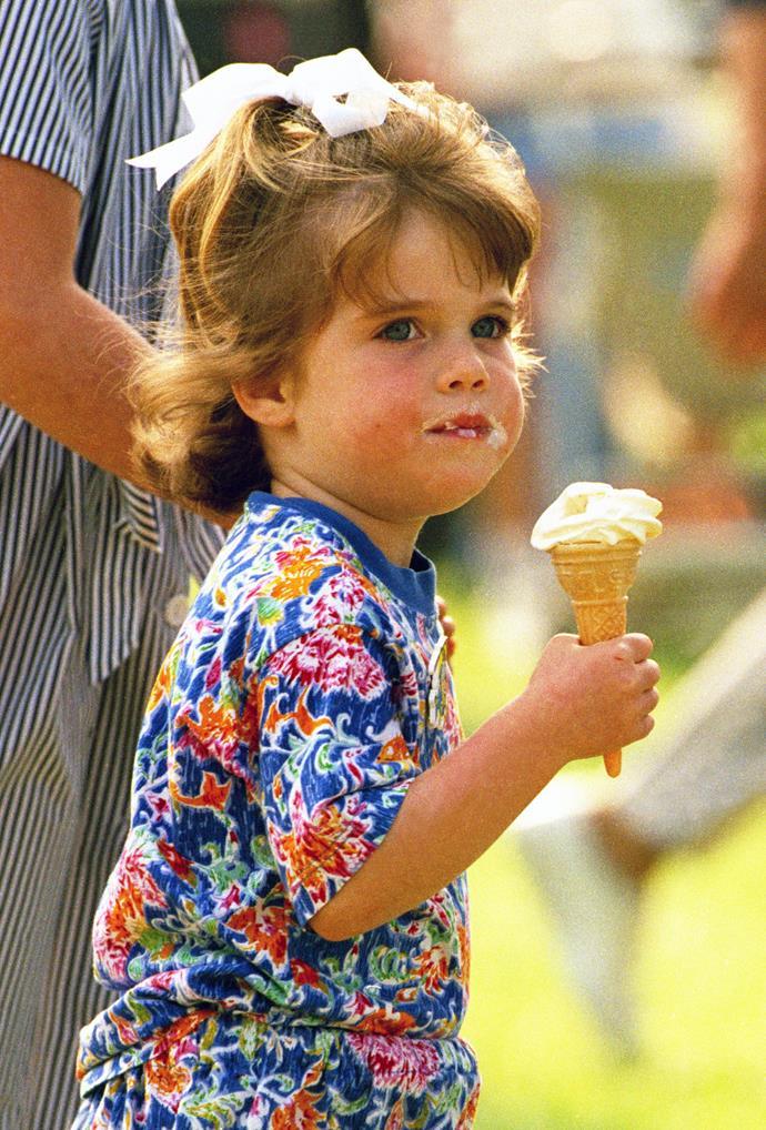 Eugenie loves to eat ice cream: Part II.