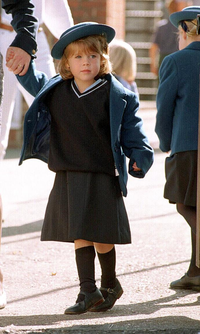In 1994, Eugenie started at Upton House School, Windsor - and thus, her toddler years were officially behind her. Now 30-years-old, the charismatic royal has come a long way.