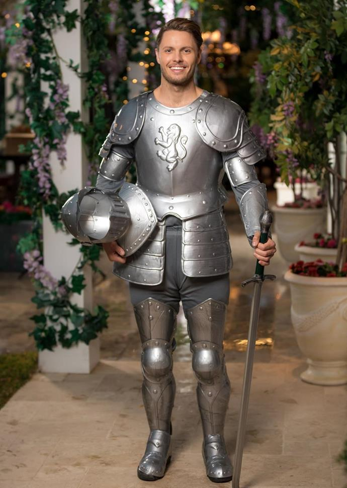 In 2109, Todd made a memorable entrance in this get-up.