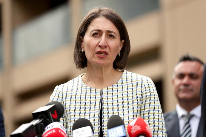 "Gladys Berejiklian has admitted to sharing a ""close, personal relationship"" with former NSW MP Daryl Maguire."