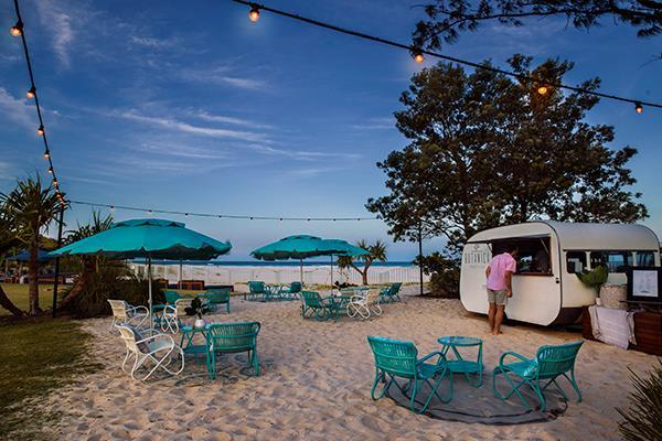 Imagine kicking back at Elements' dreamy Botanica beach club.