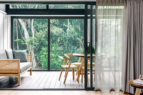A peek inside one of the stunning Elements villas.