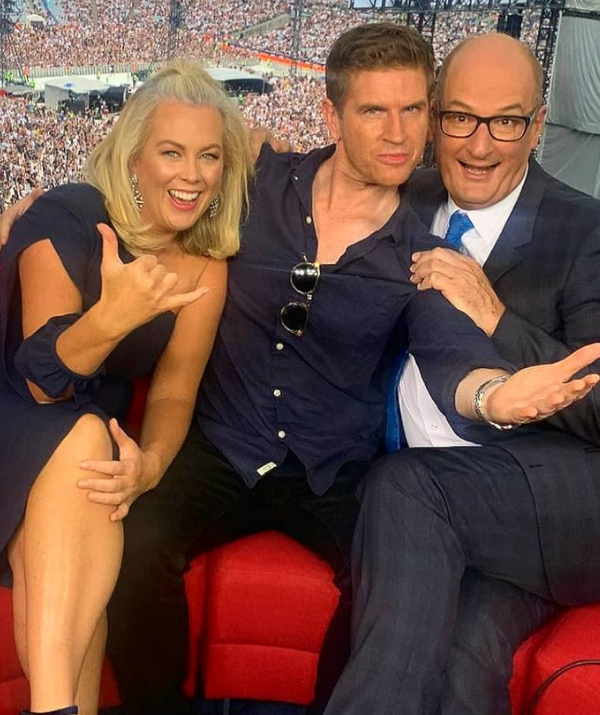 According to the source, *Today*'s bigwigs are hoping to nab the TV WEEK Gold Logie (pictured centre) nominee in a bid to steal their rival's thunder.