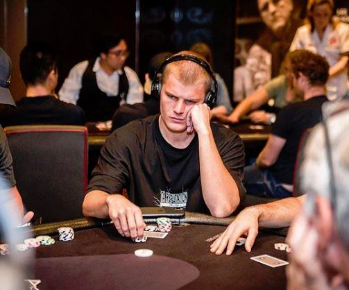 The 21-year-old outplayed 400 people – including his dad – at a charity poker event last year.