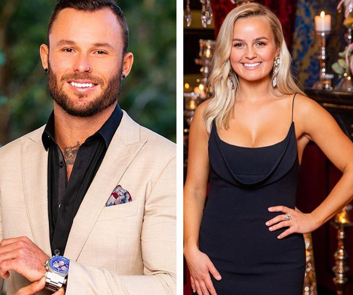 One to watch: James thinks he and Elly's romance has the potential to go all the way.