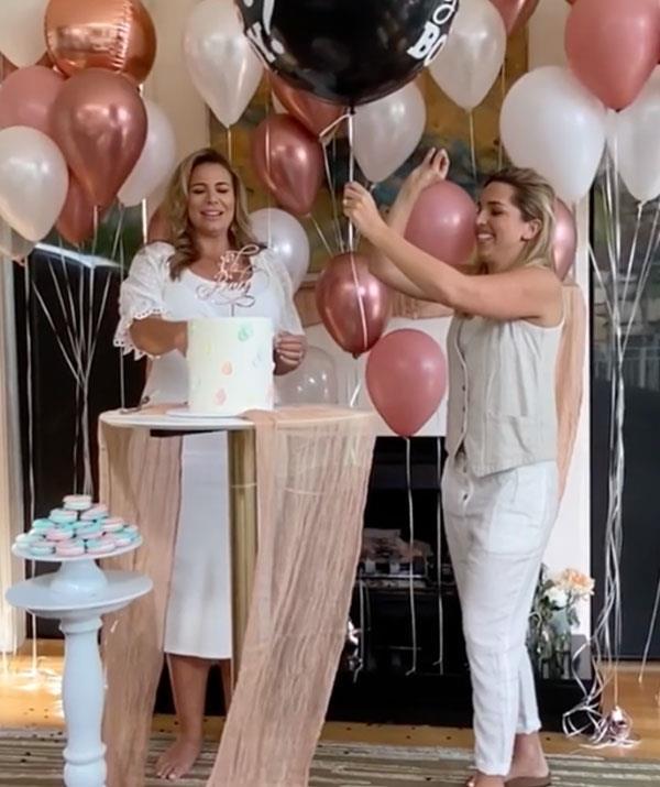 """We're having a little boy! A little dude. It was an amazing day."""