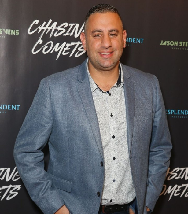 **Rob Shehadie:** Writer, comedian, and star of *Here Come the Habibs*