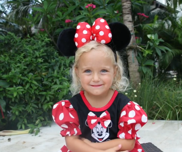 Minnie Mouse is always a favourite.