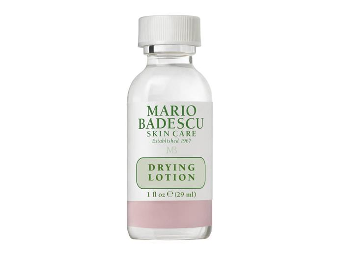 """Mario Badescu Drying Lotion, $27 at [MECCA](https://www.mecca.com.au/mario-badescu/drying-lotion/I-004684.html