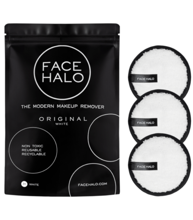 "**FACE HALO**<br><br>  Makeup wipes may be a skin saviour on nights you've had one-too-many-wines and can't be bothered to wash off your makeup, however, they are anything but when it comes to the environment.  <br><br> Any beauty lover will appreciate the reusable (just throw them in the wash and they're good as new) makeup removing cushions made by Face Halo, which last up to the equivalent of 500 makeup wipes.  <br><br>   Find the Face Halo Original 3 Pack, $30, [here](https://go.skimresources.com?id=105419X1569321&xs=1&url=https%3A%2F%2Fwww.adorebeauty.com.au%2Fface-halo%2Fface-halo-original-makeup-remover-3-pack-white.html%3FistCompanyId%3D6e5a22db-9648-4be9-b321-72cfbea93443%26istFeedId%3D686e45b5-4634-450f-baaf-c93acecca972%26istItemId%3Dwlaqmiwpr%26istBid%3Dtztx%26gclid%3DCjwKCAjwz6_8BRBkEiwA3p02VSuIxeEhgcPWw6eSwTcNEjKoBMOIWyAqDWy_lSXVxT5ieum4cbI_qRoCW1YQAvD_BwE|target=""_blank""