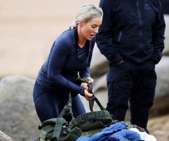 The SAS cast are put through gruelling situations.