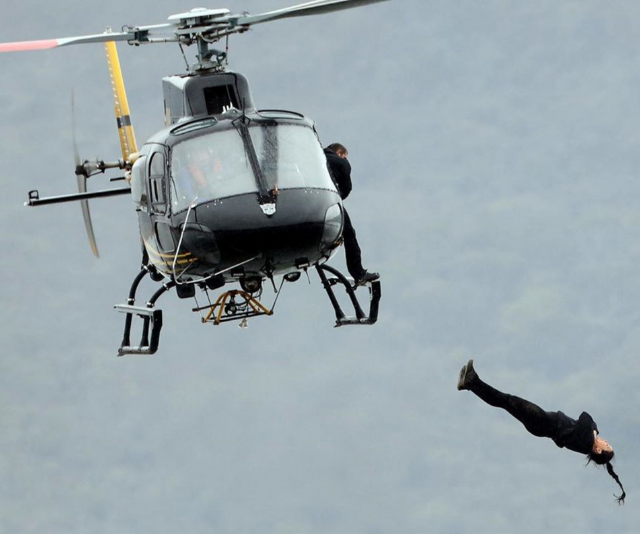 Falling out of a helicopter backwards? No thanks.