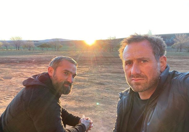 Ant (left) is currently starring on *SAS Australia* as a directing staffer.