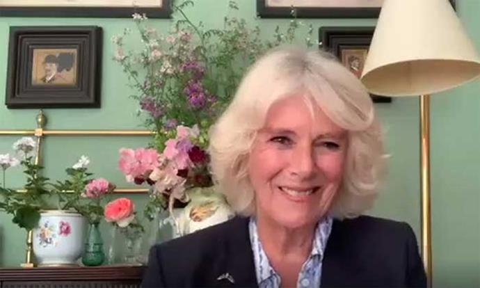 Camilla looked gorgeous in a video appearance earlier in October 2020.