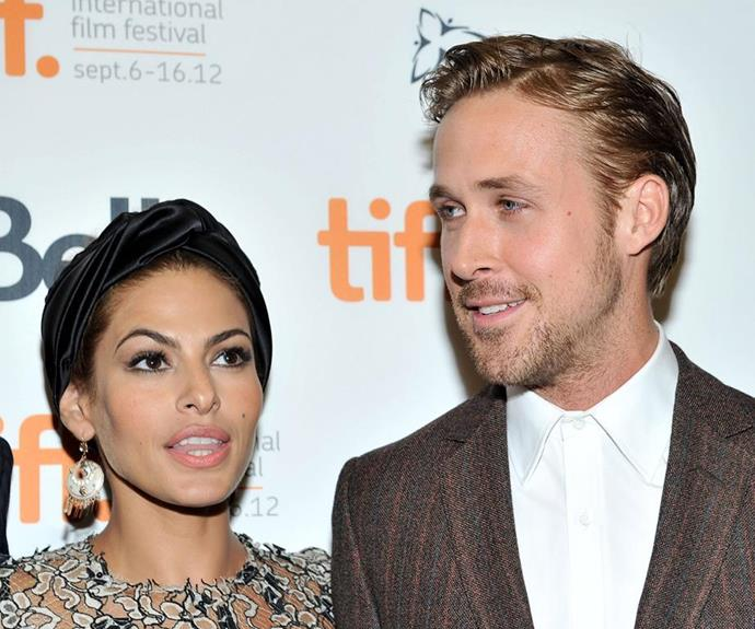 The actress says partner Ryan Goslings loves paining with their girls.