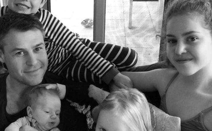 Cancer, miscarriage and one hell of a fight: Inside Rodger Corser and Renae Berry's journey to becoming parents to four beautiful children
