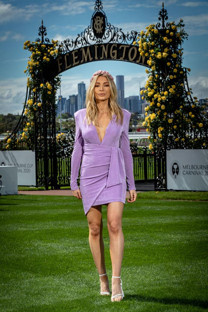 And Nadia Bartel rounded things out down in Melbourne in this gorgeous lilac frock - there's a reason this style-muse has such a loyal following.