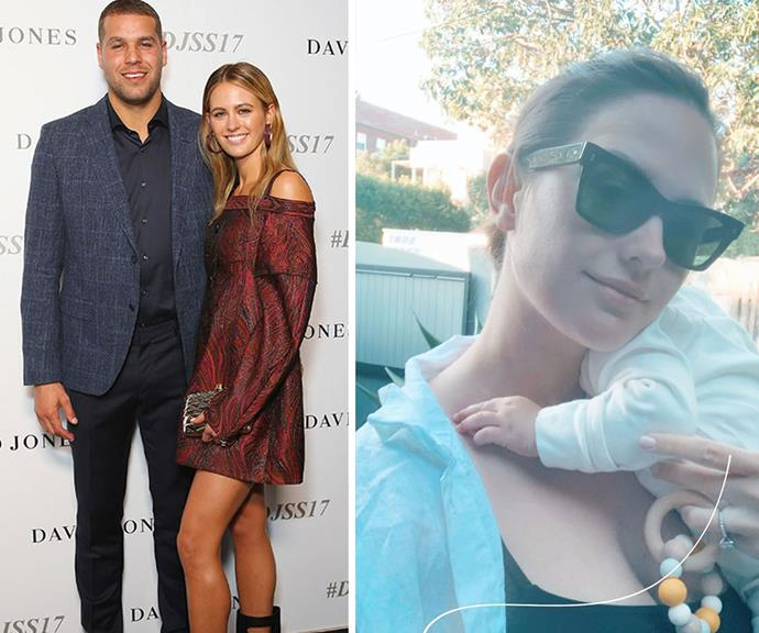 Jesinta has been solo parenting for much of the year with Buddy having to go into the AFL bubble in a bid to tackle COVID-19.
