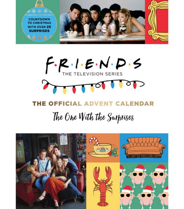 """**The One With The Surprises Advent Calendar** <br><br> Know a *Friends* super-fan? This super fun calendar packed with 25 days of surprises and over 40 keepsakes, ornaments, and booklets. <br><br>  $30 from [Big W stores and online.](https://www.bigw.com.au/product/friends-the-official-advent-calendar/p/120487/