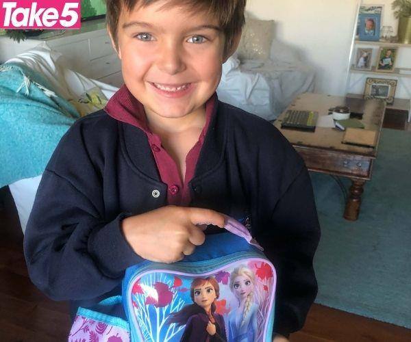 My son loved all things Elsa.
