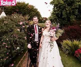 COVID WEDDING: How one couple managed to pull off their dream day just in the nick of time