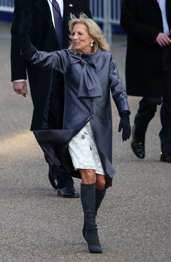 "Oh, and we can't forget the knee-grazer boots Jill is so clearly fond of - and for a good reason. We're getting [Duchess Meghan vibes](https://www.nowtolove.com.au/fashion/fashion-trends/meghan-markle-pregnancy-style-55345|target=""_blank"") here..."