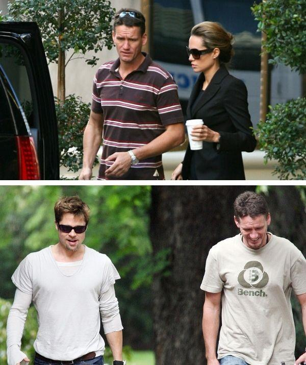Mark learnt a lot working with Brad Pitt and Angelina Jolie.