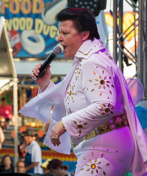 Sheryl is Australia's only female Elvis Presley tribute artist