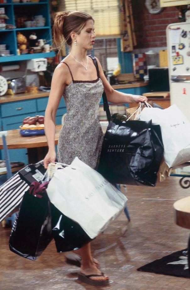 Channel Rachel Green for a little wardrobe inspo.