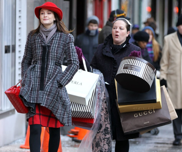 Online shopping meet the physical with Click and Collect. So you can catch us walking out of the stores like Blair.