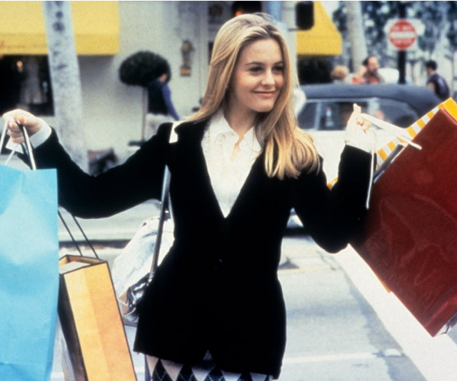 When shopping channel your inner Cher Horowitz.