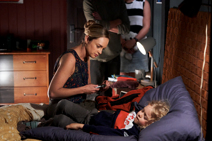 Luckily, doctor Tori was there to help. We're looking forward to seeing where his character goes in future!
