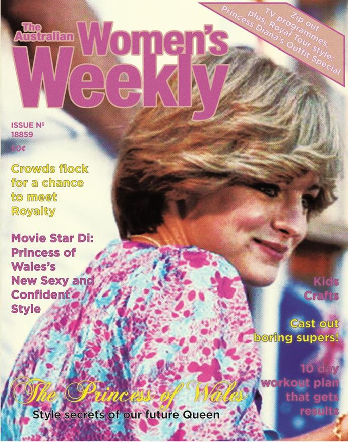 *The Crown* producers called The Weekly to ask for permission to mock up some vintage covers of the magazine from the 1983 tour.
