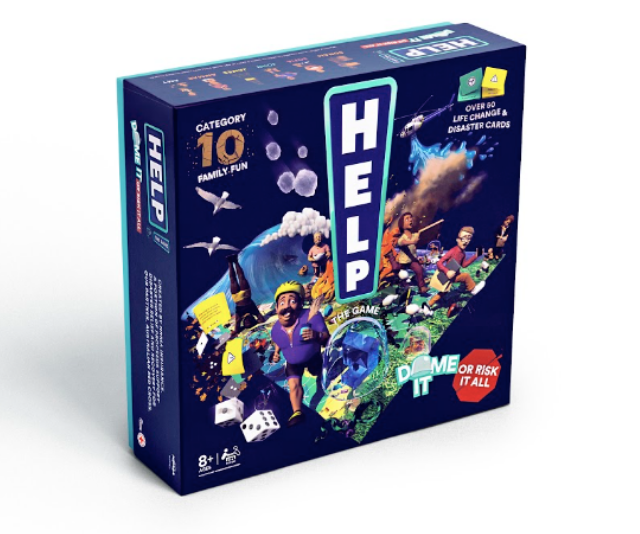 "**HELP! the board game**<br><br>  If 2020 has taught us anything, it's that you never know might be around the corner! HELP! is a fun game for the whole family that sees players make their way around Australia and face floods, fires, tremors, tornadoes, burglars and bin chickens. <br><br> Developed in partnership with NRMA a portion of proceeds supporting disaster relief and recovery for Australian Red Cross. <br><br> Shop HELP!, $25, at [Kmart stores](https://www.kmart.com.au/|target=""_blank"") and online at [helpthegame.com.au](https://helpthegame.com.au/