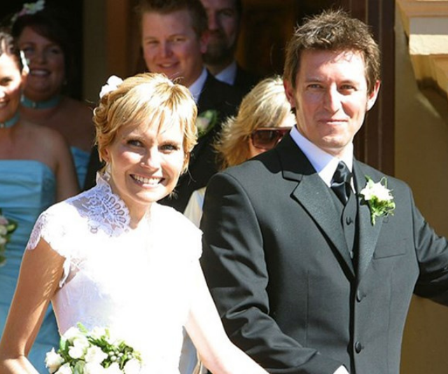 Rove and Belinda were barely wed two years before she passed.