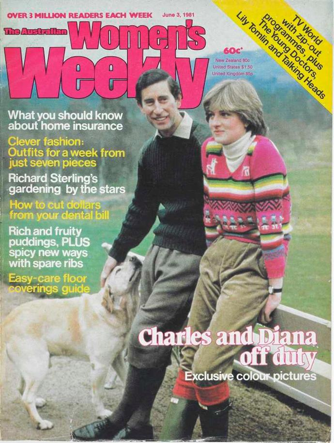 *The Australian Women's Weekly* covered the early days of Charles and Diana's courtship, which is set to be brought to life in the new season of *The Crown*.