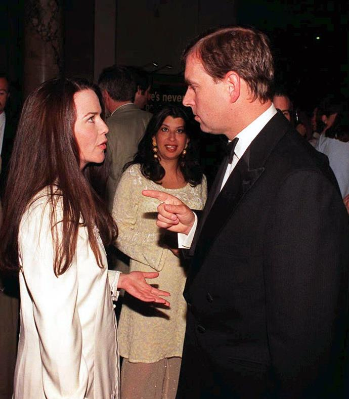 Prince Andrew and photographer and actress Kathleen Norris Stark dated in the early 1980s.