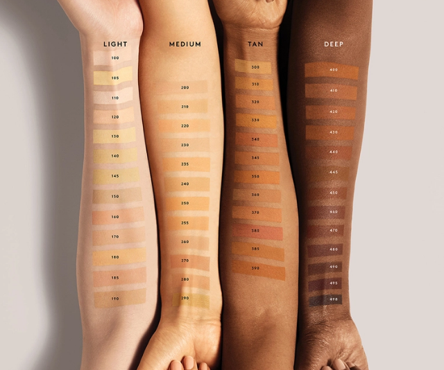 """**Fenty Beauty**<br><br>  Fenty's best-seeling foundation, Pro Filt'r Soft Matte Longwear Foundation, is a soft matte finish with buildable coverage so you can keep things sheer and natural or build it up for a big night out. It now comes in a whopping 50 shades, ten more since its initial launch. <br><br>  Fenty Beauty Pro Filt'r Soft Matte Longwear Foundation, $53, shop the range at [Sephora in store or online.](https://www.sephora.com.au/products/fenty-pro-filtr-soft-matte-longwear-foundation/v/498-neutral-deep