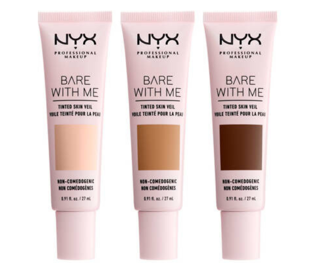 """**NYX** <br><br> With a whopping 43 shades in the range we can't go past NYX's Can't Stop Won't Stop Full Coverage Foundation. They also offer a tinted moisturiser, Bare With Me Tinted Skin Veil, in 12 shades which is much more than the usual three offered by some brands.  <br><br> NYX Can't Stop Won't Stop Full Coverage Foundation, $29.95, shop it [here](https://www.nyxcosmetics.com.au/face/foundation/cant-stop-wont-stop-full-coverage-foundation-NYX_636.html