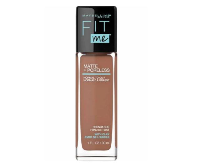 """**Maybelline** <br><br> The name says it all when it comes to Maybelline's Fit Me foundation. A god-send for those with oily skin wanting to avoid that 3pm shine that's clearly not the result of highlighter, it contains micro-powders (despite being liquid) to combat oil.   There are 40 shades on offer so you can find your right fit.  <br><br> Maybelline Fit Me foundation, $21.95, [shop it here](https://www.chemistwarehouse.com.au/Shop-Online/2519/Maybelline-Fit-Me-Matte-Poreless-Foundation