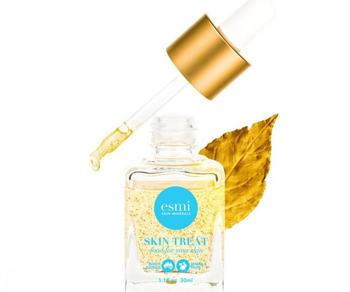 "As good as gold: Jodi's favourite product from the range is the [esmi 24K Gold Nourishing Oil, $65.](https://zianibeauty.com.au/esmi-24k-gold-nourishing-oil/|target=""_blank"")"