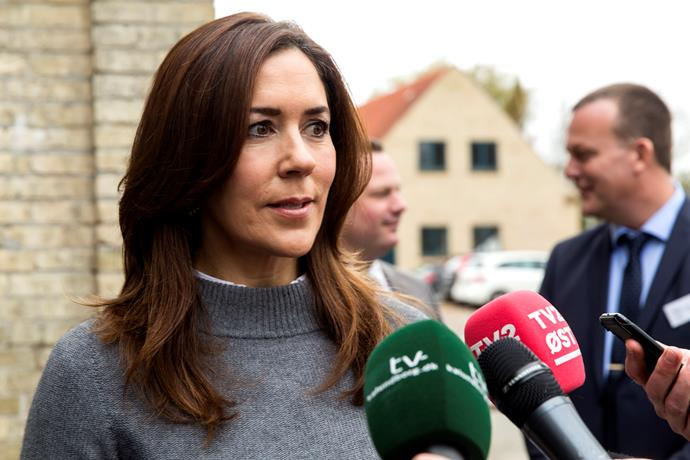Princess Mary explained why she became emotional during the heartfelt speech.