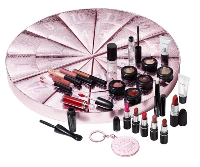 "**MAC **<br><br> Cult makeup brand MAC has packed up minis of their best-sellers (including their Fix+ setting spray and beloved lipstick in Russian Red) in a calendar that would have any beauty lover counting their Christmas blessings.  <br><br> Boom Boom Wow Complete Advent Calendar, $360 (worth $550), shop it from [MAC Cosmetics here](https://www.maccosmetics.com.au/product/13851/82537/products/makeup/lips/lip-palettes-kits/boom-boom-wow-complete-advent-calendar-550-value|target=""_blank"")."