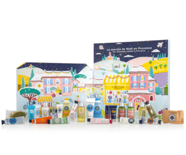 "**L'Occitane ** <br><br>  French favourite, L'Occitane if perfect for a little pampering and with 25 of their luxurious products wrapped up in this calendar you'll be in for many afternoons of beauty bliss.  <br><br> L'Occitane 2020 Classic Beauty Advent Calendar, $99, shop it [here](https://au.loccitane.com/classic-advent-calendar,23,1,94226,1424197.htm|target=""_blank"")."