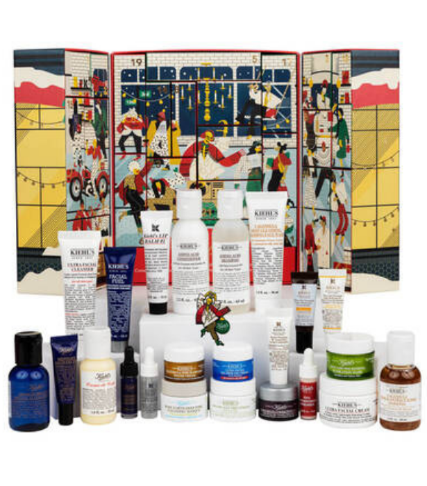"**Kiehl's**<br><br> Kiehl's limited edition calendar is bursting with the brand's most-loved serums, moisturisers and washes for 24 days of great skin.  <br><br> Kiehl's Limited Edition Advent Calendar, $149, shop it from [Kiehl's Australia website](https://www.kiehls.com.au/category/holiday-limited-edition/limited-edition-advent-calendar/3605972413789.html?cm_mmc=GooglePS-_-ProductSearch-_-LIMITEDEDITIONADVENTCALENDAR-_-None&gclid=Cj0KCQiAwMP9BRCzARIsAPWTJ_GMXHnUb3Uz7x-0mBgplvDH4BnasAOtx2OLKOLbchfJ0B2JaCK9DmEaAn6UEALw_wcB&gclsrc=aw.ds|target=""_blank"")."